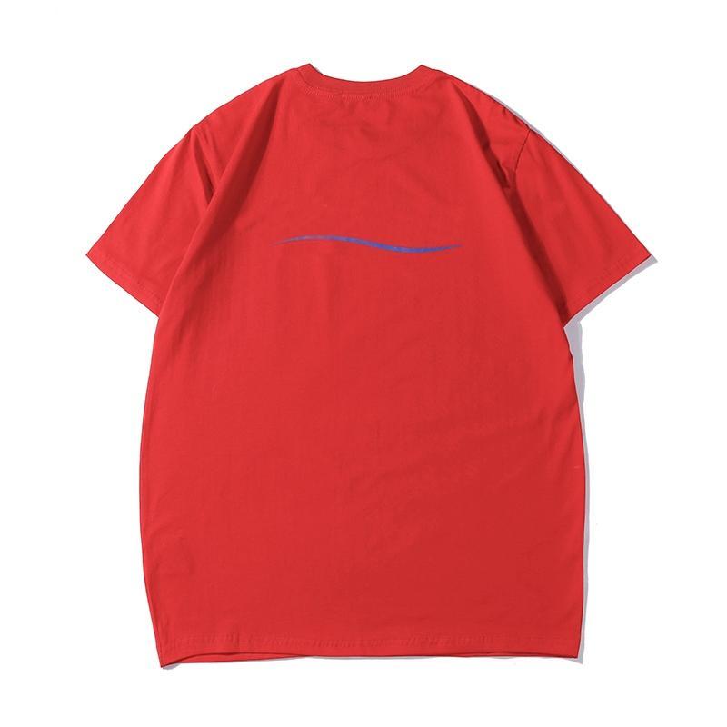 Mens estilista T Shirts Hombres Mujeres algodón estilista ocasional de la camisa de impresión de letras de manga corta camiseta del tamaño S-2XL
