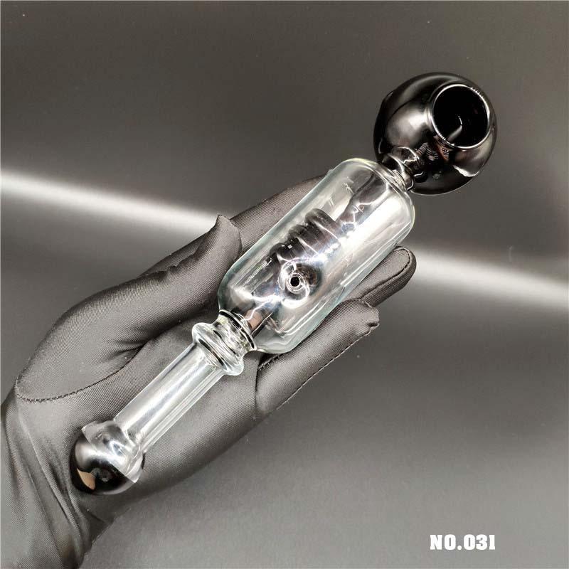 Tubos popular grande cristal de la manera de vidrio Pipas mejor calidad pipas de tabaco ajeno zx