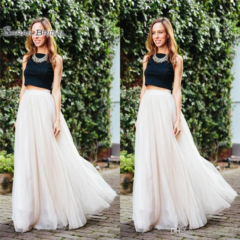 Layered Tulle Custom Made A-Line Cheap Party Prom Skirts Vestidos De Novia Women Clothing Cheap Prom Dress