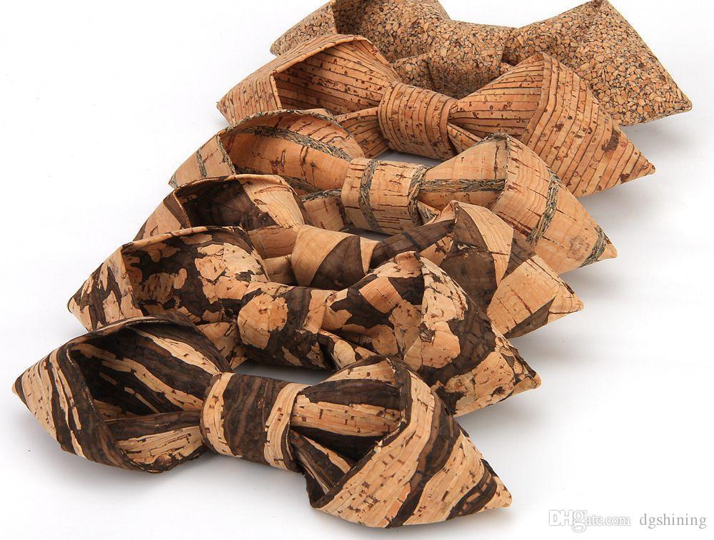 Повседневная мужской галстук-бабочка творческий древесины зерна бизнес платье модный свадебный банкет мужская рубашка галстук-бабочка DHL