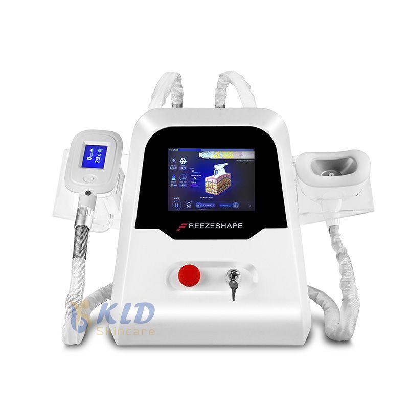 체중 감소 장비 살롱 사용 바디 슬리밍 기계를 동결 기술 턱 치료 criolipolisis 기계 한 Cryolipolysis 지방 쿨