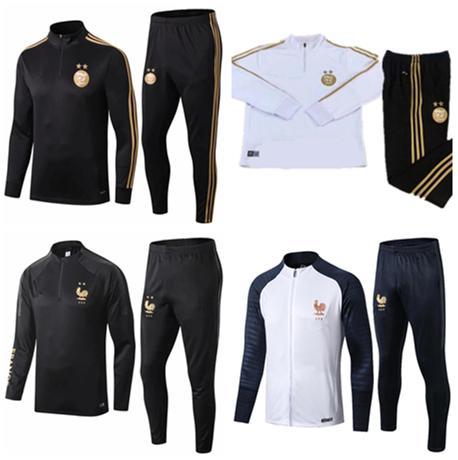 Survetement Hommes et Femmes Vêtements de Football Kit Veste