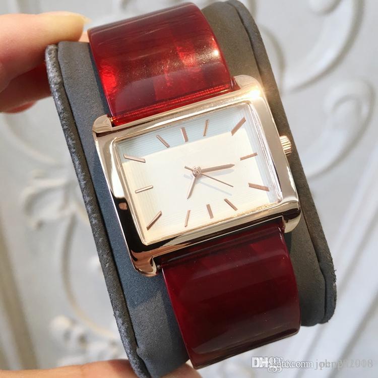 2019 новое платье мода пластиковый браслет женщины наручные часы роскошные женские часы из нержавеющей стали партия мода Марка высокое качество топ наручные часы
