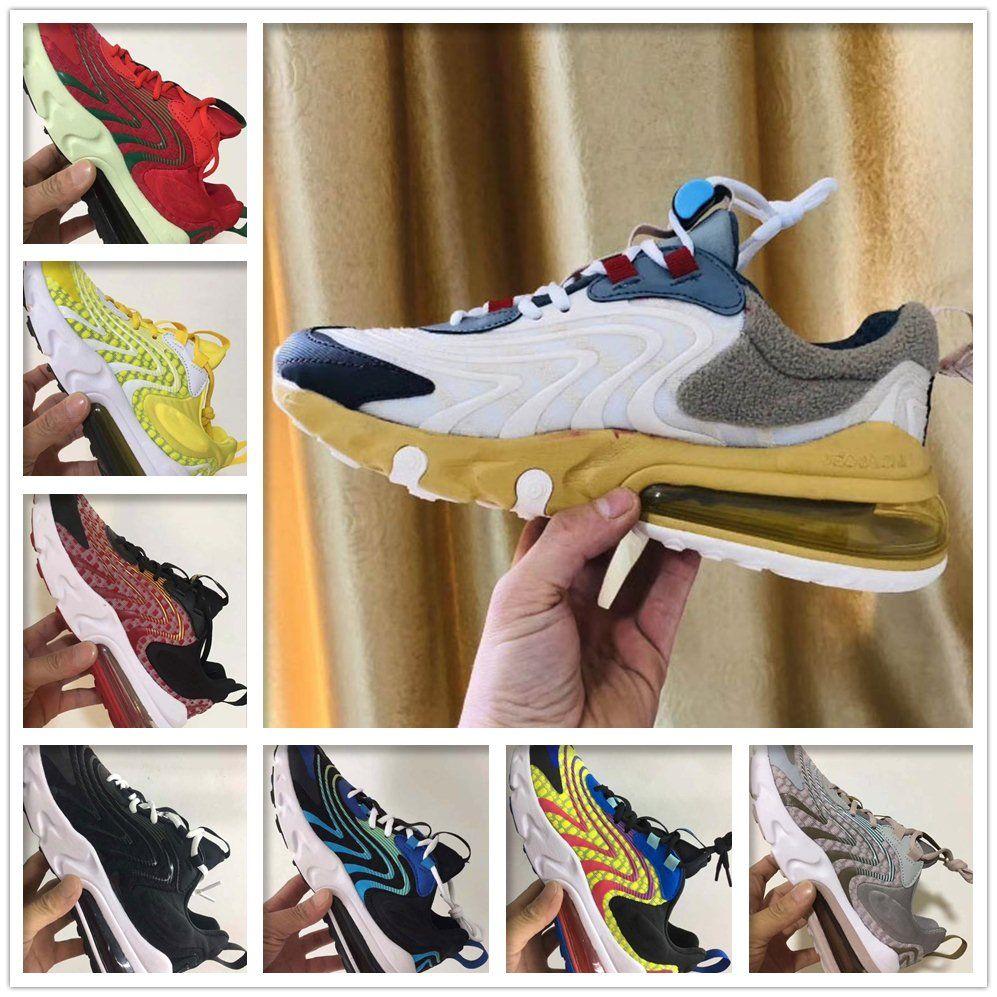 Con 2.020 27C Reaccionar ENG hombres de los zapatos corrientes v2 Regency púrpura Core Blanca Triple Black v3 27s mujer hombre formadores zapatillas de deporte de diseño