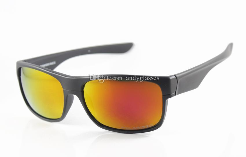 OO9189 Noir Iridium Mode Polarisée Lentille Mens / Femmes Twoface Nouveaux Lunettes de soleil Lunettes de soleil Luxe Sunglasses Fire Marque 60mm Style VKVJG