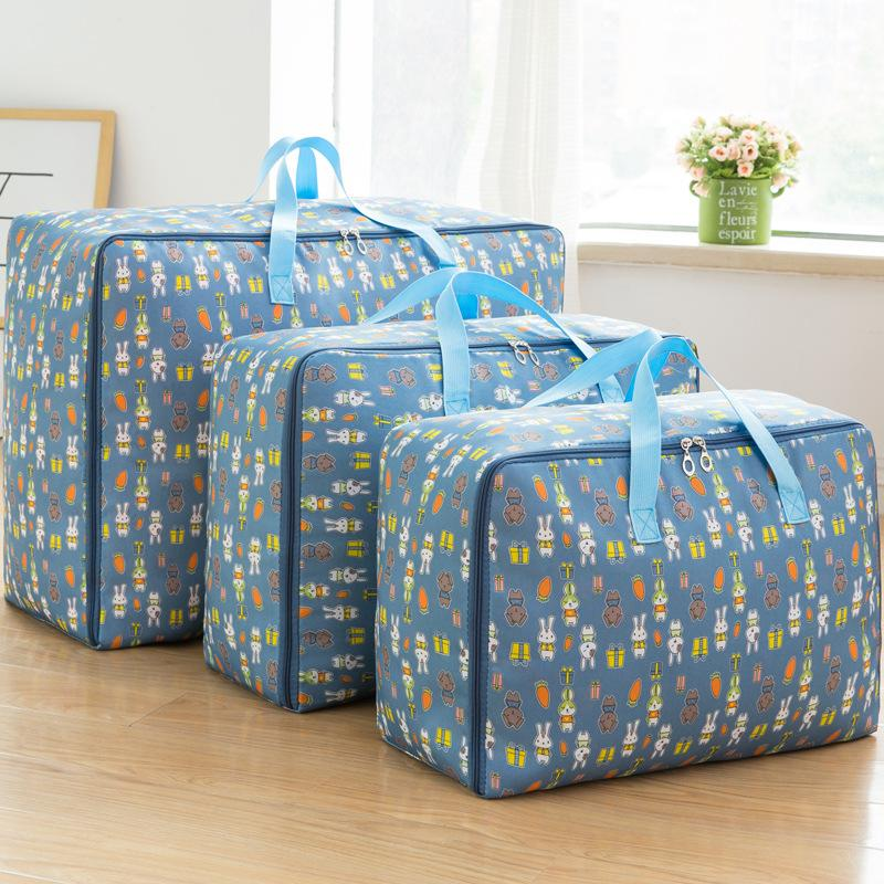 New Waterproof Portable Clothes Storage Bag Organizer Folding Closet Organizer For Pillow Quilt Blanket Quilt Bag