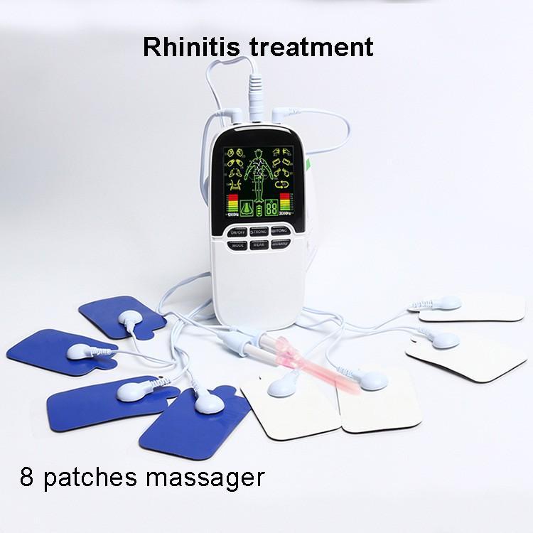 반도체 레이저 비염 치료 휴대용 코 알레르기 치료 도구 비염 부비동염 치료제 TENS 치료기