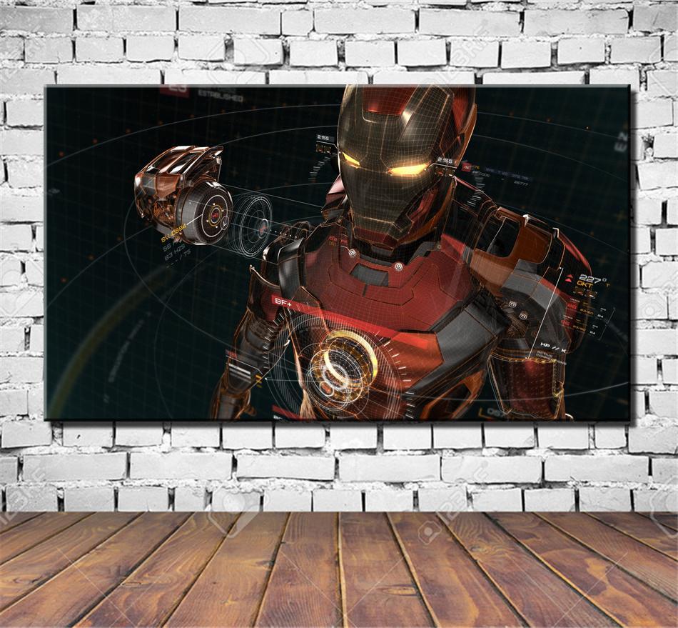Железный Человек Бесконечности Armadura войны,высокой четкости печать на холсте, украшения дома искусства картина/без рамы/каркаса