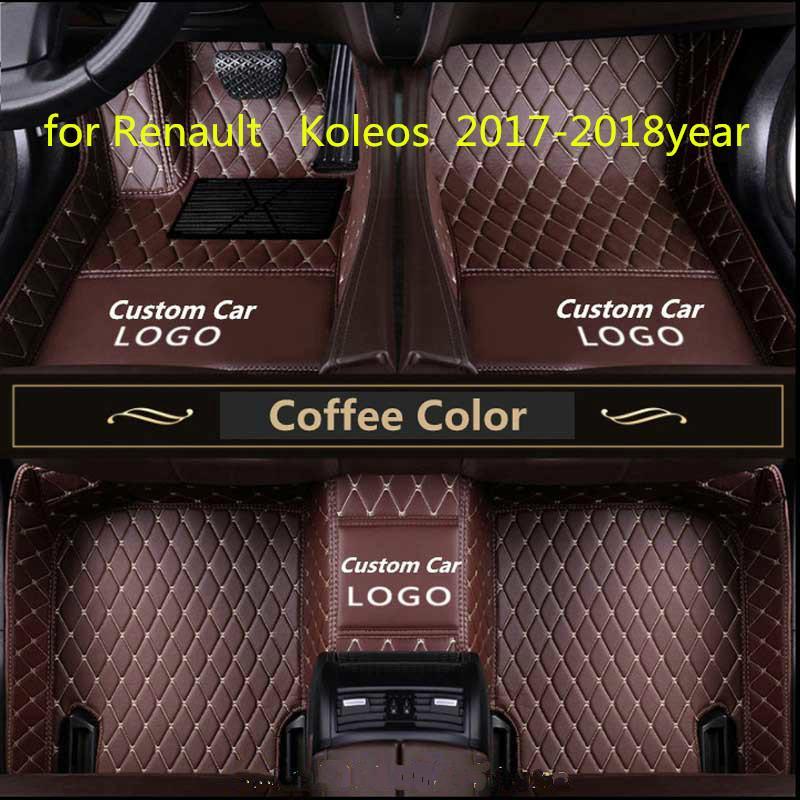 Renault Koleos 2017-2018year kaymaz toksik olmayan ayak pedi araba ayak pedi için