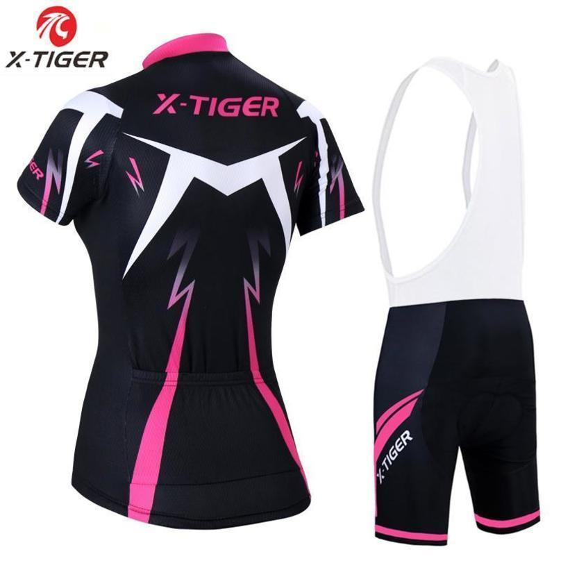 Meilleur X -Tiger été femme Vtt vélo Vêtements de vélo respirant Mountian Vêtements de vélo Ropa Ciclismo rapide -Dry Cyclisme Jersey Ensembles