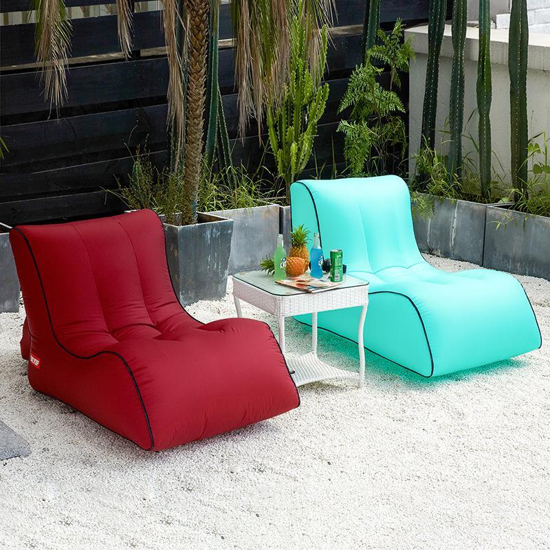 Inflation Sofa Im Freien Tragbare Neue Stil Kreative Aufblasbare Bett Heißer Sellingcamp Wassermatratze Fabrik Direktverkauf 69yc p1