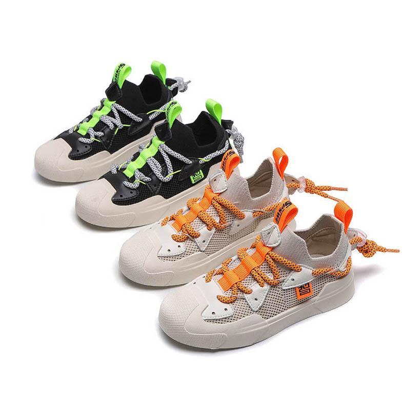 Fashion 2020 new boys shoes casual kids shoes kids trainers kids sneakers boys trainers boys sneakers youth boy running shoe retail B409
