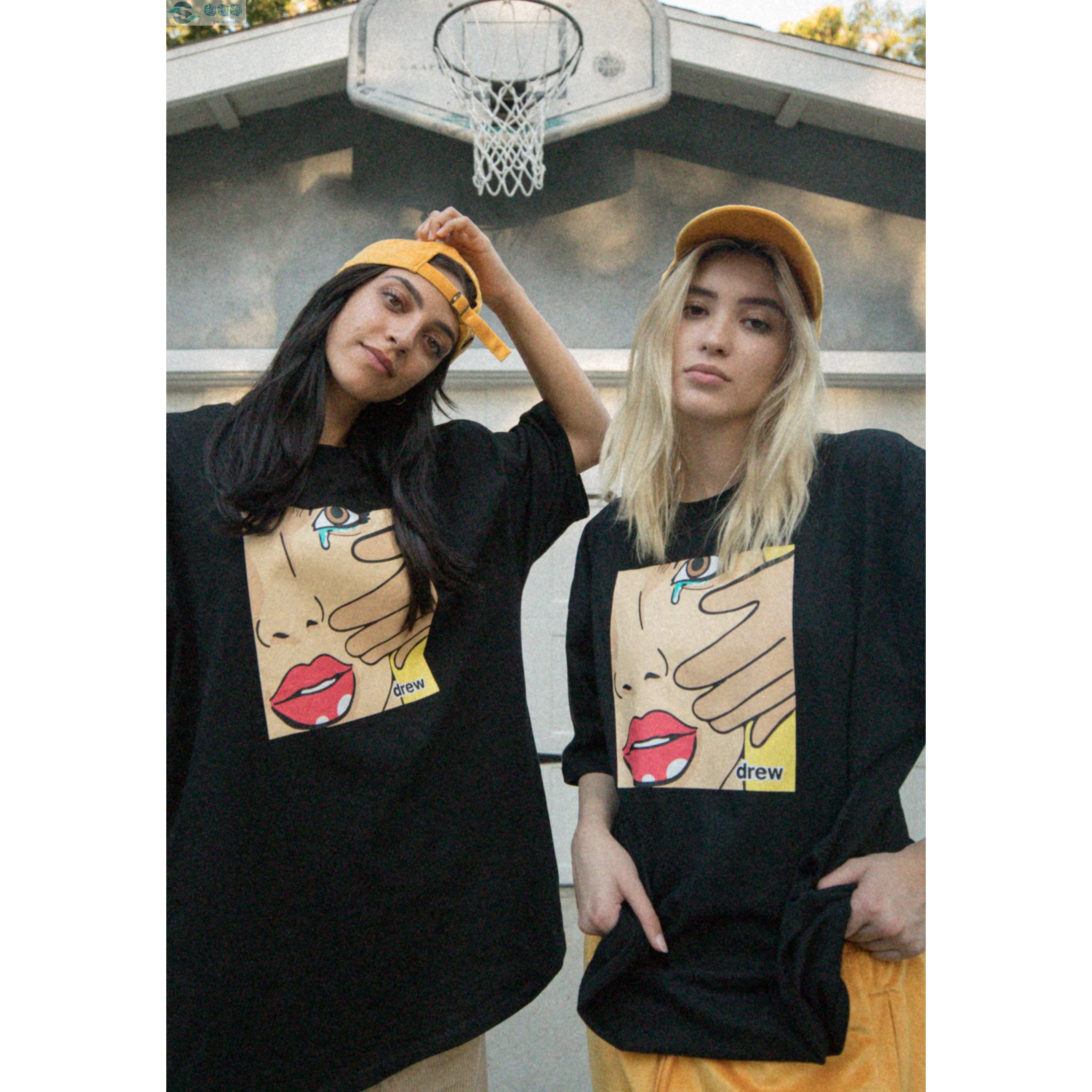 Mens Designer Hiphop Estilo Camisetas Verão Fashion Street Tees Tops das mulheres dos homens de luxo de impressão soltas camisetas Mens Marca Casual T-shirts 2020