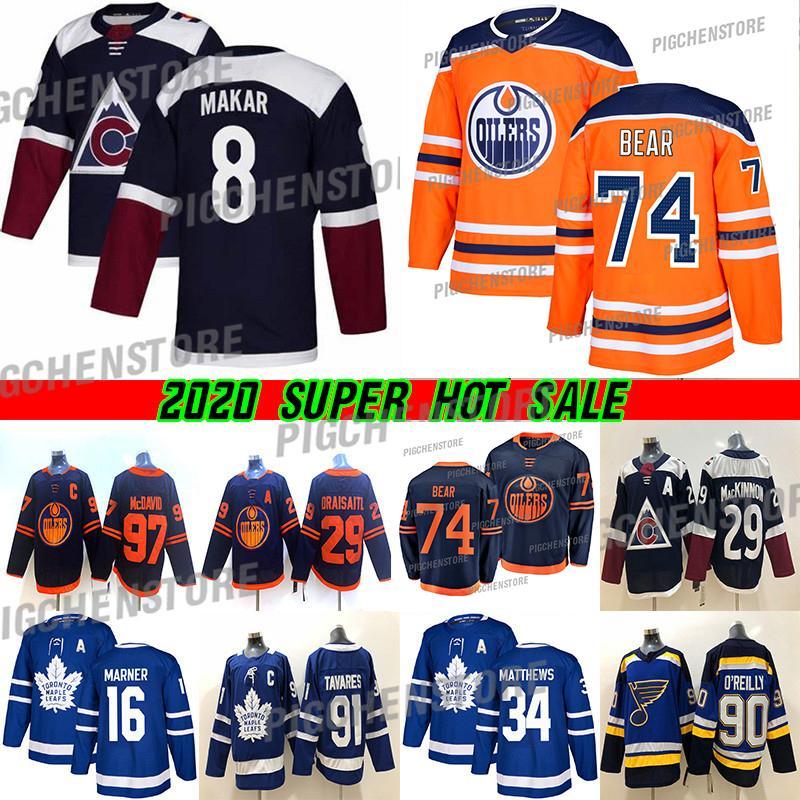 New York Rangers de hockey de los jerseys 24 Kaapo Kakko 10 Artemi Panarin Colorado Avalanche 8 Cale Makar Edmonton Oilers 74 jerseys Ethan oso