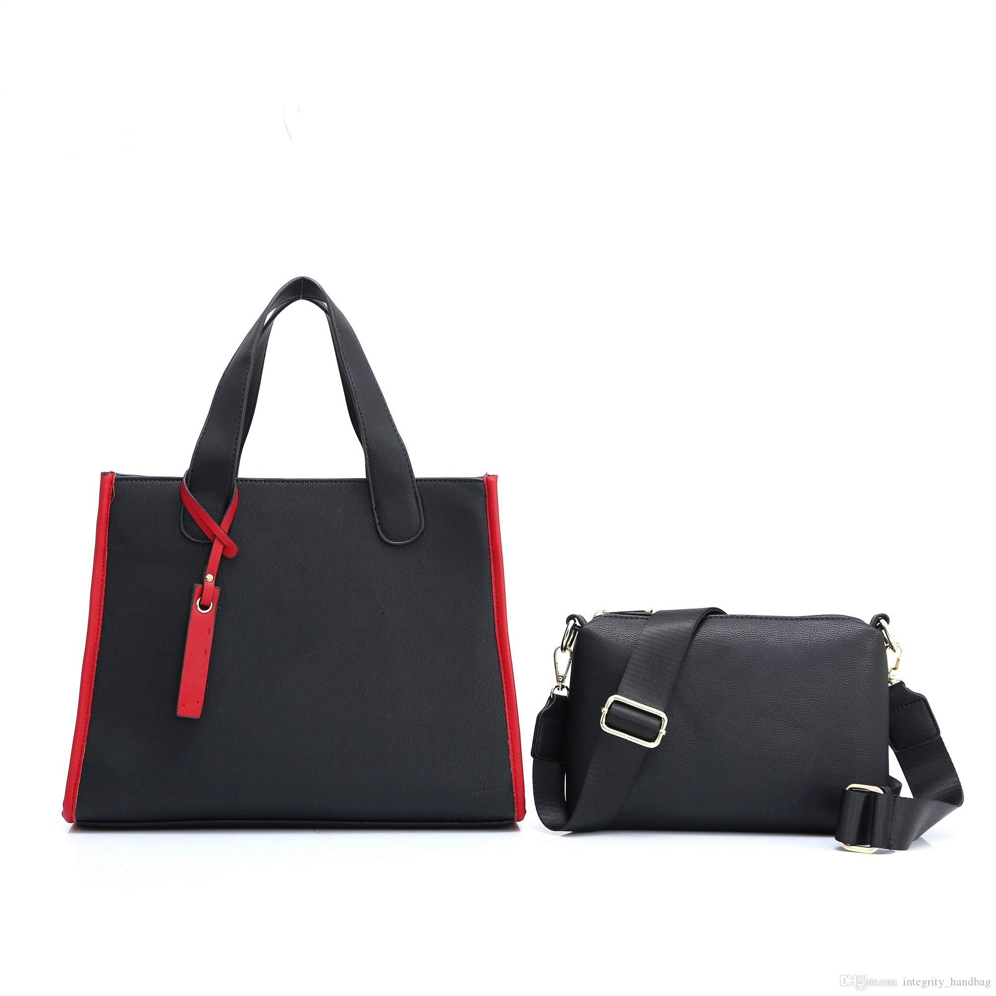 2020 стили сумки Известный дизайнер Бренд моды кожаные сумки Tote женщин сумки плеча леди кожаные сумки M сумки кошелек 601T #