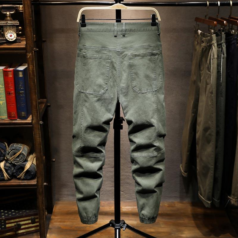 Pantalon Jeans Mode Caro McIkkny Ankle Harem Streetwear Hommes Fit Casual Casual Elastic Homme Pantalon Jogger pour CDOTP
