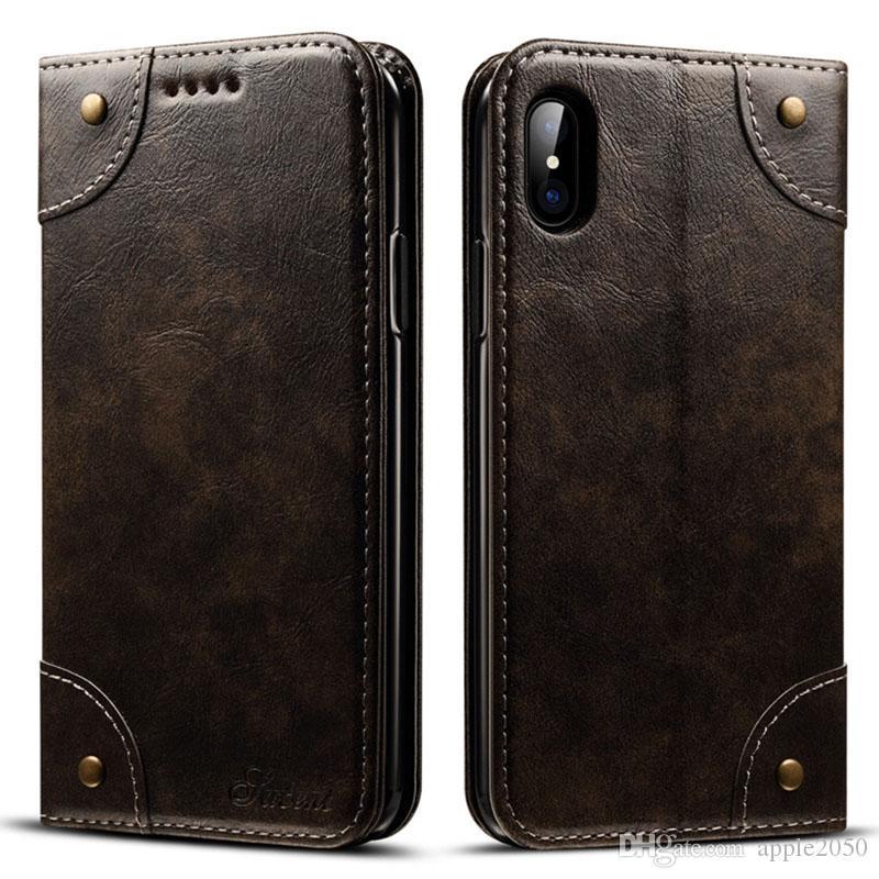 بطاقة جلدية بطاقة ل iPhone12 11PRO X 8 7 زائد حالة حماية كاملة صدمات الغطاء الجلدي ل فون XS ماكس القضية