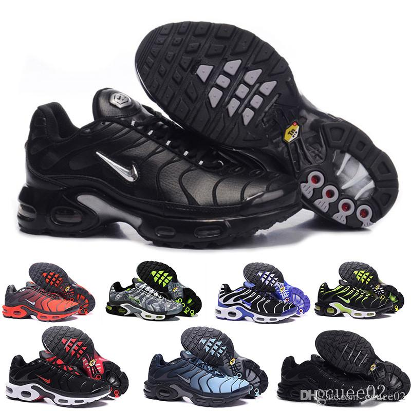 2017 New Arrive TN Casual Shoes For Men ,Good Quality Tn Trainers Lace Up Breathable Mesh Cushion Sport Sneakers Size 40-46 C-4RD