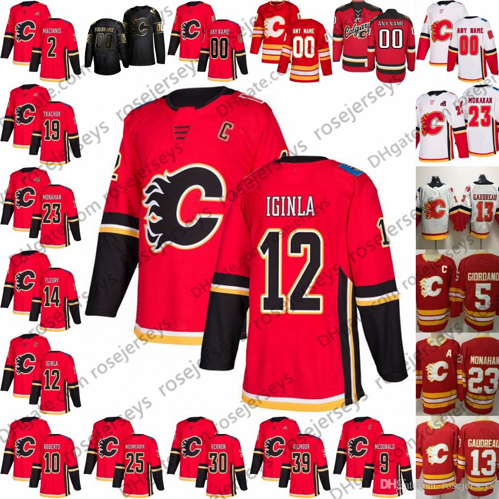 2020 2019 Calgary Flames Red Vintage Jersey 2 Al Macinnis 9 Lanny Mcdonald 12 Jarome Iginla 30 Mike Vernon 39 Doug Gilmour White Retired From Rosejerseys 20 74 Dhgate Com