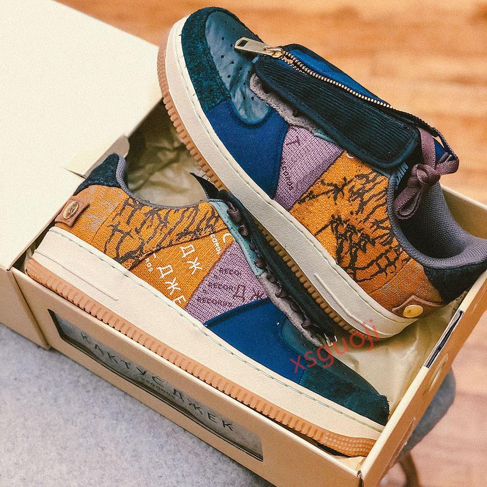 Nike Air Jordan 1 tendance gris de haute qualité de la mode de luxe multi-couleur des chaussures de sport occasionnels avec la taille de la boîte d'origine Hococal 40-45