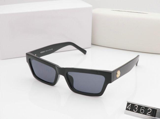 Franqueo Moda Sunglasses Hombre Nuevas Lentes de gafas Diseñador Gafas Sun UV400 Tarjeta cuadrada con caja Mujer VS4362 Descuento + Exento Sunglas LCSM