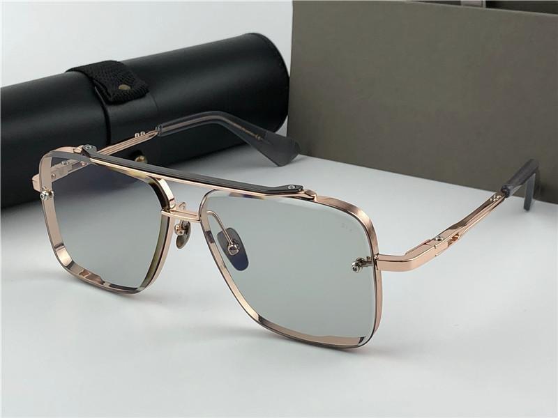 Квадратные старинные солнцезащитные очки мужские корпус металл 400 дизайн солнцезащитные очки мода УФ-новая безрамоглавная роскошь с стилем линзы мужчины lkmhk