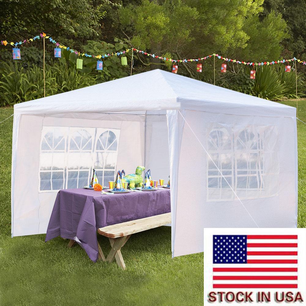 حفل زفاف رومانسي المظلة الظل في الهواء الطلق الخيام نزهة حزب خيمة شرفة الشاطئ المحمولة الخيام حديقة حزب مع اللون الأبيض الاسهم الامريكية