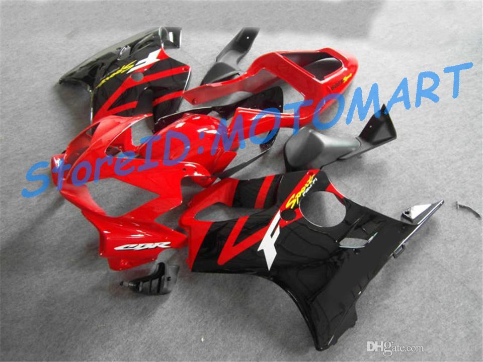 Kit de carenado del molde de inyección para HONDA CBR600F4I 01 02 03 CBR600 F4I 2001 2002 2003 CBR 600 F4I Carenados conjunto HF4I01