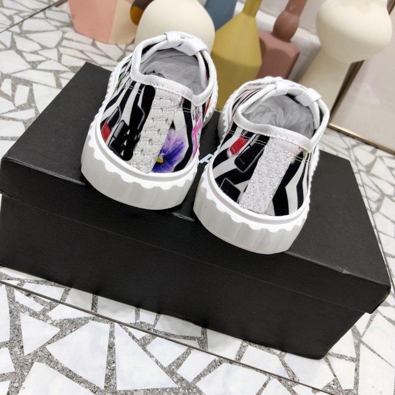 hommes et chaussures en toile classique fond plat femmes chaussures de sport imprimer des femmes chaussures en tissu respirant polyvalent d'été