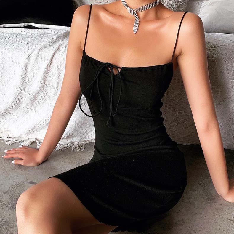 Les femmes été design mini-robes sexy Paillettes club à manches longues jupes longues colonne pure gaine maille robe de soirée de vacances vente chaude