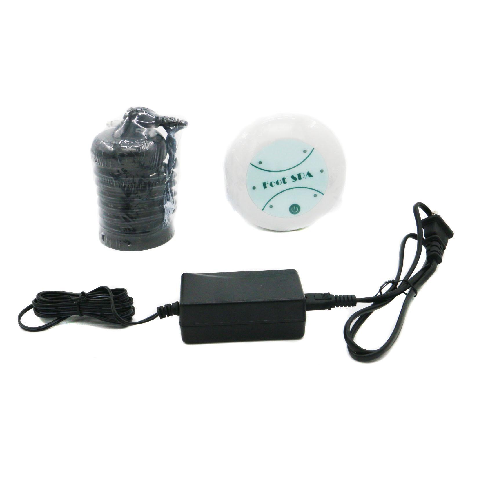 1 세트 미니 해독 기계 셀 기계 이온 정화 이온 해독 발 스파 아쿠아 발 목욕 마사지 해독 발 목욕 1piece C08-802FS 블랙 어레이