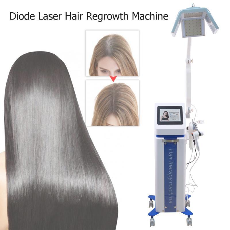 جودة عالية بيو ضوء الشعر المعدات النمو 650NM ديود الشعر بالليزر آلة النمو لتساقط الشعر مع اوربا الموافقة