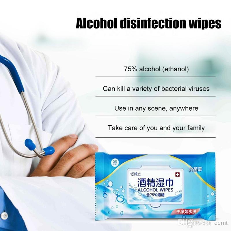 esterilizar Medical Desinfecção Portátil 75% de álcool Cotonetes Pads toalhetes anti-sépticos Cleanser Esterilização Limpeza Alcohol Prep Pad Atacado