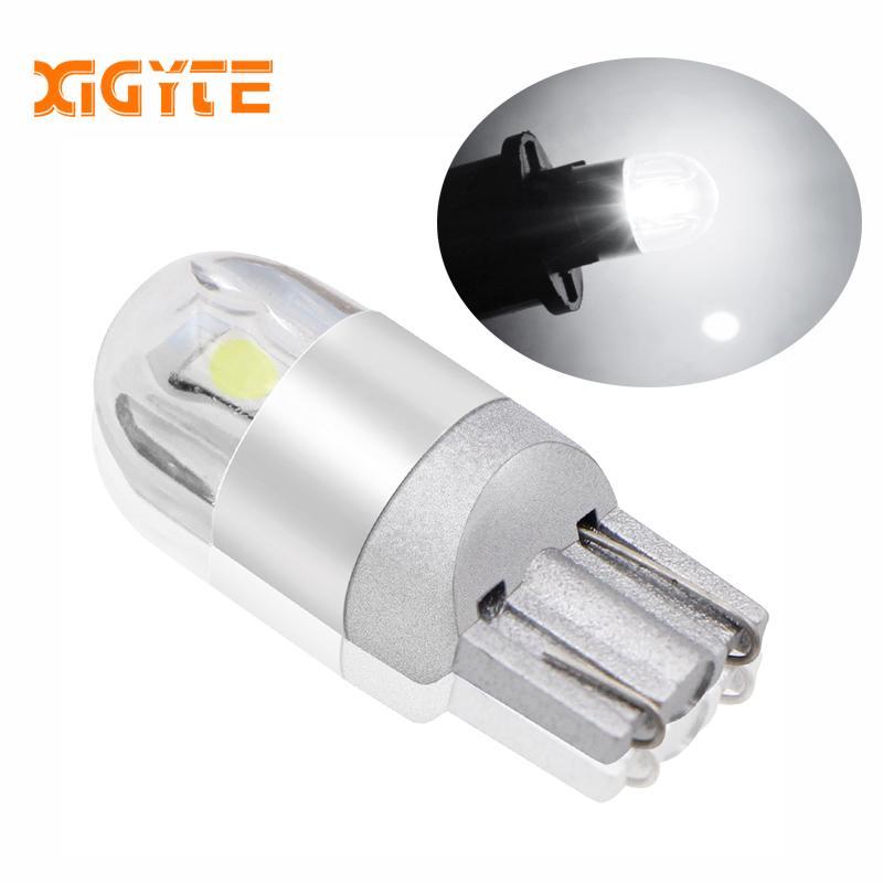 1 Adet T10 3030 SMD 194 168 COB Gümrükleme Işıklar Okuma İç Lambası 12V 6000k Beyaz Araba stil LED Araç DRL W5W Ampul açtı