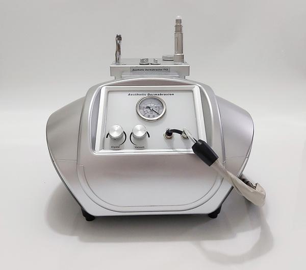 2 IN 1 Diamant Dermabrasion Crystal Microdermabrasion Vacuum Face Lifting Hautverjüngung Falten entfernen Schönheit Maschine Spa