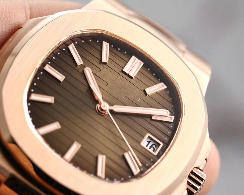watch super nautilus stainless steel cal.324 automatic movement mens designer watches men watch