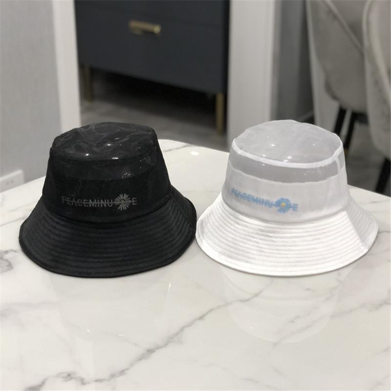 Japonais de mode chapeau de pêcheur femmes au printemps et en été mercerisé chapeau 100% net rouge Marguerite plage WS-2203