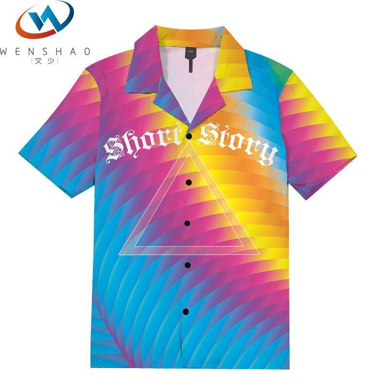 = 2020 ilkbahar yaz marka etiketi elbise erkekler Polo tişört yaka yaka kumaş mektup eğlence erkekler tişörtler ParisJJ54 Marka adı