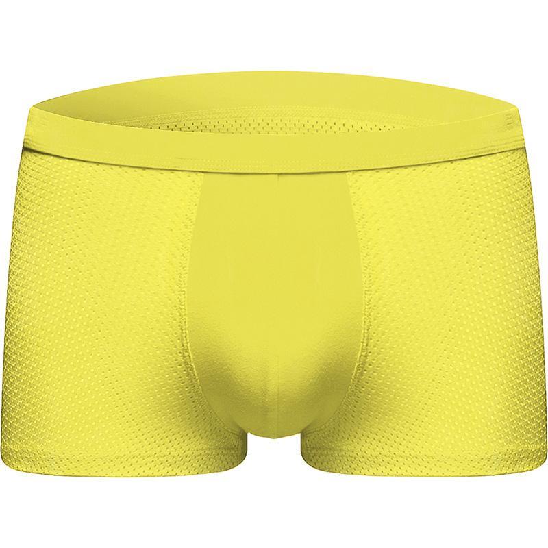 DEWVKV Hot Sale Panties Solid Classic Mens Underwear Boxer Sexy Underwear Men Boxer Shorts 2019 ZMQ