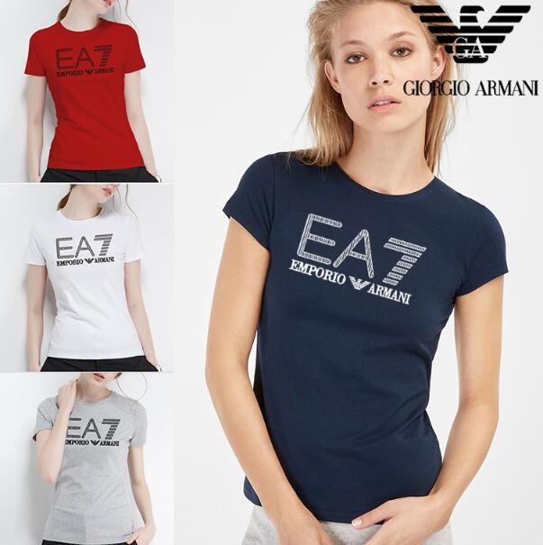 2019 Livraison gratuite sur les femmes vente des T-shirts bien meilleurs T-shirts Mme Chemise d'été Lettre mode Imprimer col rond manches Sport T-shirt
