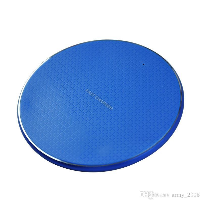 Металлическое беспроводное зарядное устройство для Iphone X XS Max XR 10w Fast Quick Qi Charger беспроводное зарядное устройство зарядная подставка для Samsung S9 Примечание 9