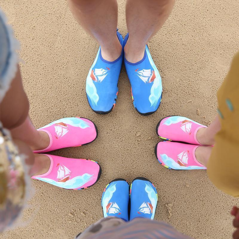 Vente chaude-nisex Sneaker Chaussures De Natation Sports Nautiques pieds nus plage Chaussures Hommes Femmes Aqua Chaussettes Size25-46 28