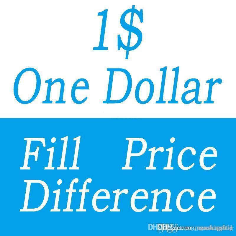 Ein Dollar Fill Preis Difference Zahlung für DHL EMS Kasten verschiedene zusätzliche Kosten diferent Versandkosten usw.