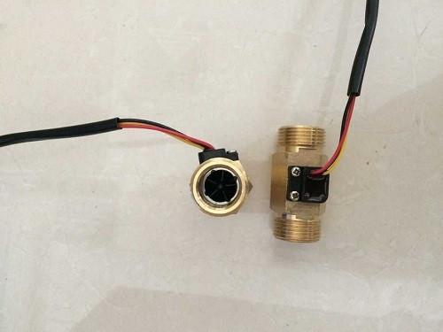Brass water flow sensor G0.75