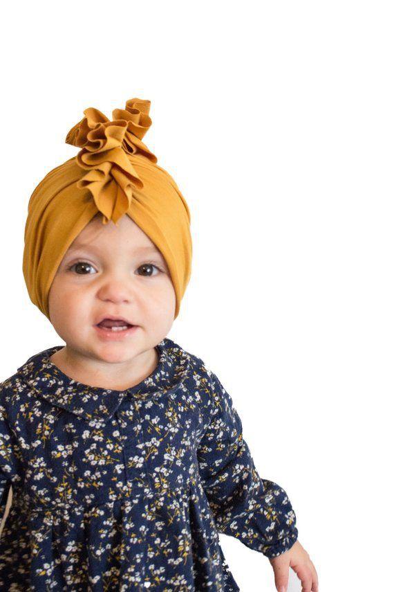 Европа младенческие девочки девочки шляпа узел головные уборы детский малыш дети шапочки тюрбан сплошные цветные шляпы детские аксессуары 9 цветов A278