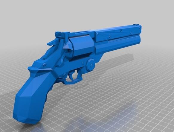خدمة طباعة أجل مسدس مخصص ذات جودة عالية عالية الدقة النماذج الرقمية 3D ألعاب مضحكة ST6005