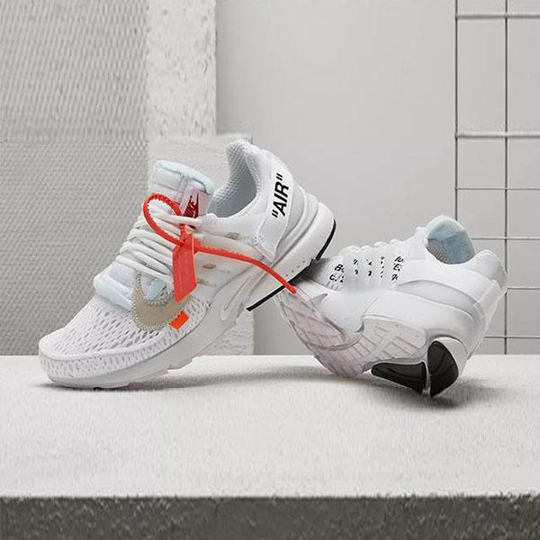The Ten Nike Air Presto Off White 2.0 Virgil Abloh Trainers Mid Designer Low Luxury QS Fashion Kanye West Basket Men Women Cheap Shoes Sneakers Casual Shoes Running Shoes