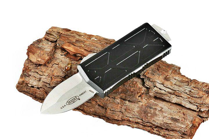 Exocet Летающие рыбы двойного действия тактического самообороны складной нож EDC кемпинга нож охотничьи ножи подарок Xmas 05492 карманный инструмент