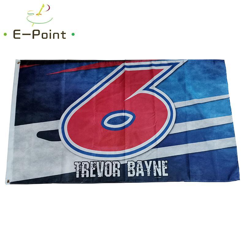 Trevor Bayne 6 Flag 3 * 5 pi (90cm * 150cm) Polyester drapeau décoration bannière de vol jardin maison drapeau cadeaux de fête
