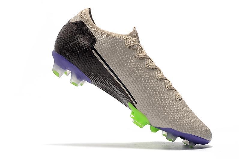 2020 nouveaux hommes de haute qualité à faible haut noir bleu Flyknitting maille imperméable rêve Vitesse vapeur 13 Elite FG Chaussures de course taille Chaussures 35-45